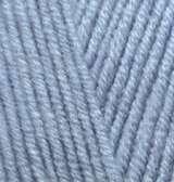 221 светлый джинс меланж