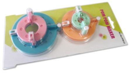 лум для вязания помпонов 4х размеров меланж