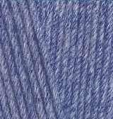 374 голубой меланж