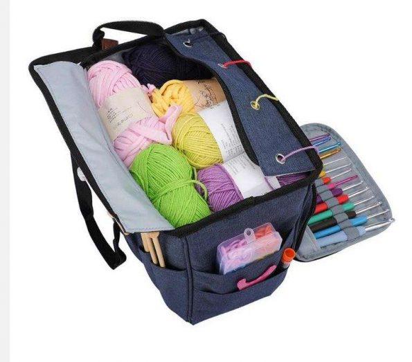 Пустые сумки для вязания средняя