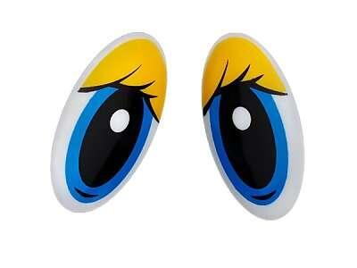 Глаза клеевые овальные(R1)
